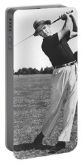 Golfer Sam Snead Portable Battery Charger