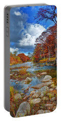 Guadalupe In The Fall Portable Battery Charger by Savannah Gibbs