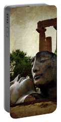 'hermanos' In The Valley Of The Temples Portable Battery Charger by RicardMN Photography