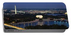 High Angle View Of A City, Washington Portable Battery Charger