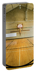 High School Basketball Court And Head Portable Battery Charger