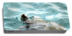 Kamakahonu, The Eye Of The Honu  Portable Battery Charger