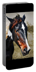 Portable Battery Charger featuring the photograph Horse by Savannah Gibbs
