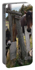 Horsing Around Portable Battery Charger by Athena Mckinzie