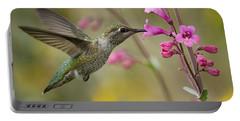 Hummingbird Heaven  Portable Battery Charger