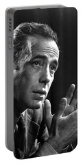 Humphrey Bogart Portrait 2 Karsh Photo Circa 1954-2014 Portable Battery Charger