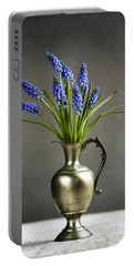 Hyacinth Still Life Portable Battery Charger