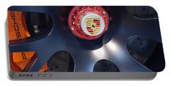 Hybrid Wheel  Portable Battery Charger by John Schneider