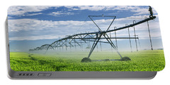 Irrigation Equipment On Farm Field Portable Battery Charger