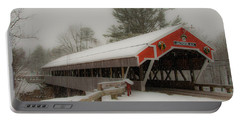 Jackson Nh Covered Bridge Portable Battery Charger