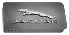 Jaguar F Type Emblem Portable Battery Charger