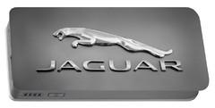 Jaguar F Type Emblem Portable Battery Charger