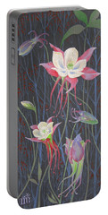 Japanese Flowers Portable Battery Charger