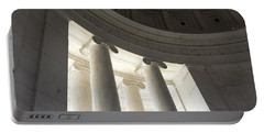 Jefferson Memorial Architecture Portable Battery Charger