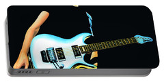 Joe Satriani Painting Portable Battery Charger