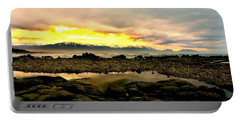 Portable Battery Charger featuring the photograph Kaikoura Coast New Zealand by Amanda Stadther