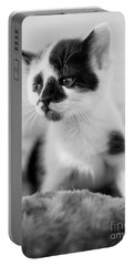 Kitten Dreaming Portable Battery Charger