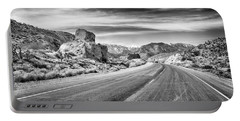 Portable Battery Charger featuring the photograph Kyle Canyon Road by Howard Salmon
