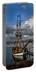 Portable Battery Charger featuring the photograph Lady Washington by Michael Gordon
