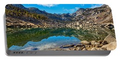 Lake Sabrina In Bishop Creek Canyon. Portable Battery Charger