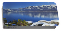 Lake Tahoe Winter Portable Battery Charger
