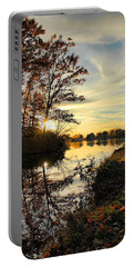 Lake Wausau Sunset Portable Battery Charger