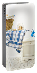 Laundry Room Portable Battery Charger