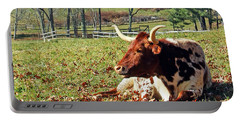 Lazy Morning Bull Portable Battery Charger