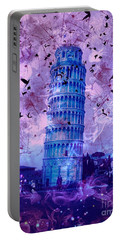 Leaning Tower Of Pisa 2 Portable Battery Charger
