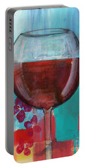 Portable Battery Charger featuring the painting Let It Breathe by Robin Maria Pedrero