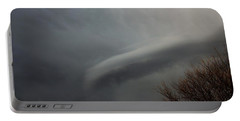 Let The Storm Season Begin Portable Battery Charger