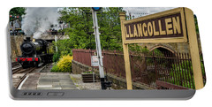 Llangollen Railway Station Portable Battery Charger