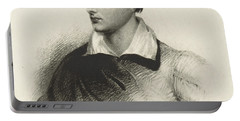 Lord Byron, English Romantic Poet Portable Battery Charger
