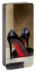 Louboutin Heels Portable Battery Charger by Brian Jannsen