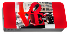 Portable Battery Charger featuring the photograph Love by J Anthony