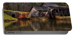 Mabry Mill Portable Battery Charger by Robert Loe