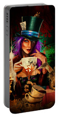 Mad Hatter Portable Battery Charger