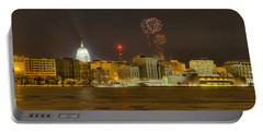 Madison New Years Eve Portable Battery Charger