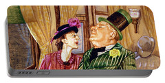 Margaret And W.c. Fields Portable Battery Charger