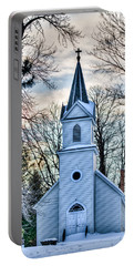 Maria Chapel Portable Battery Charger by Paul Freidlund