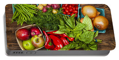 Market Fruits And Vegetables Portable Battery Charger