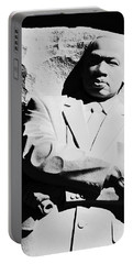 Portable Battery Charger featuring the photograph Martin Luther King Memorial by Cora Wandel