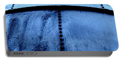 Metal Denim Portable Battery Charger by Amar Sheow