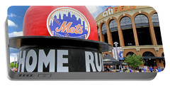 Mets Home Run Apple Portable Battery Charger