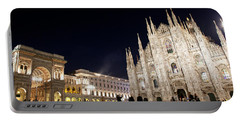 Milan Cathedral Vittorio Emanuele II Gallery Italy Portable Battery Charger