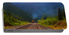 Misty Mountain Train Portable Battery Charger