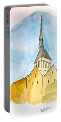 Mont Saint Micheal Portable Battery Charger