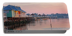 Morning Peace Portable Battery Charger by HH Photography of Florida