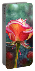 Morning Rose Portable Battery Charger