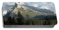 Mount Rundle Portable Battery Charger by Stuart Turnbull